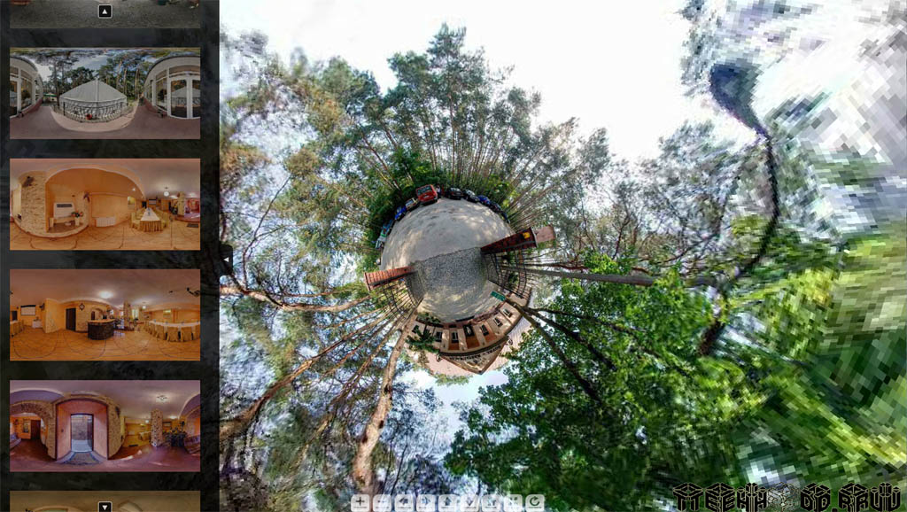 Виртуальный тур по гостиничному комплексу Польша